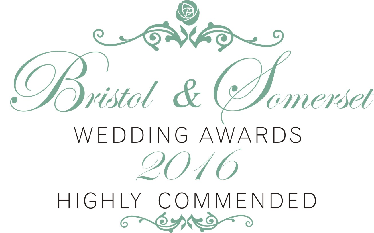 Highly commended Bristol and Somerset Wedding Awards
