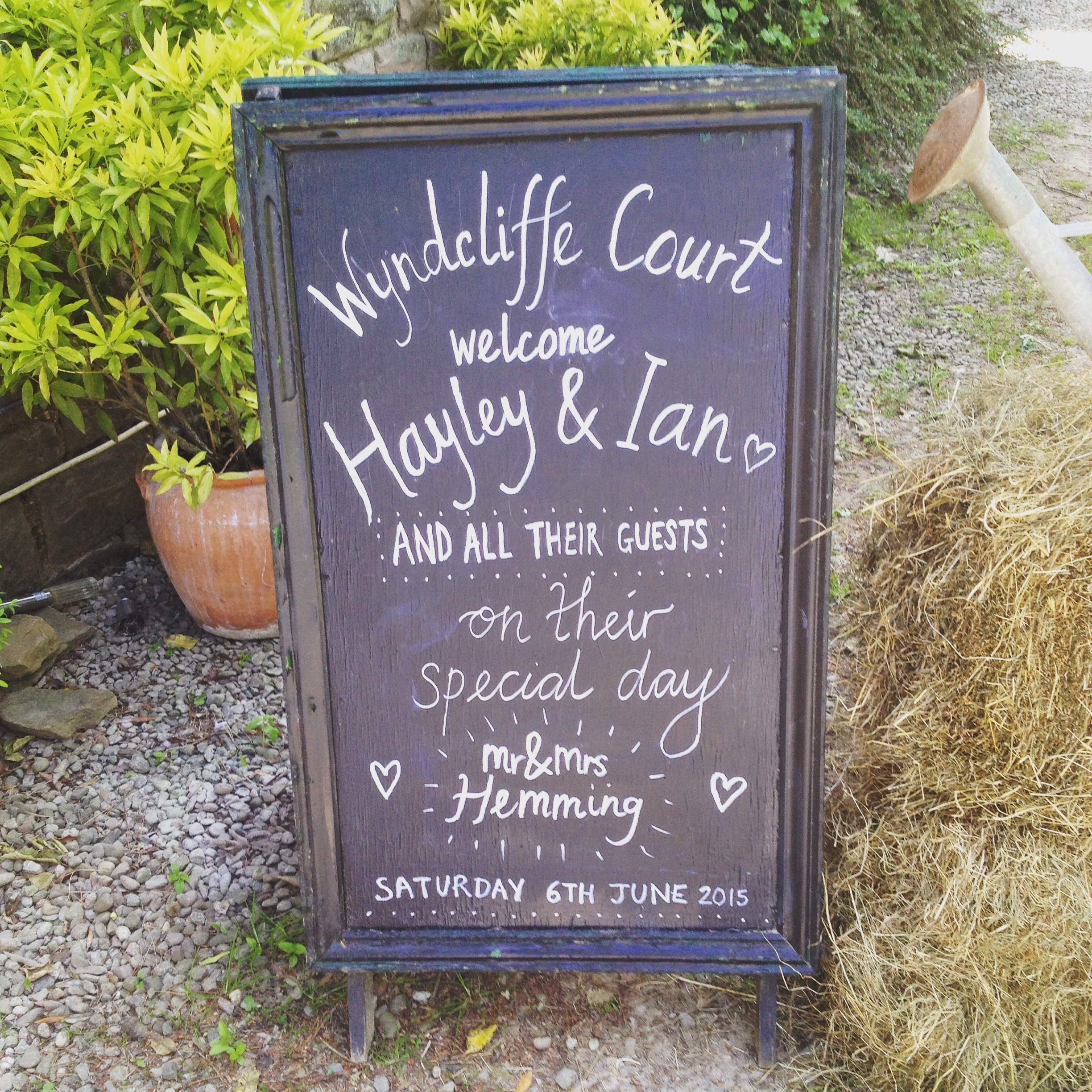 Wyndcliffe Court Gardens Wedding