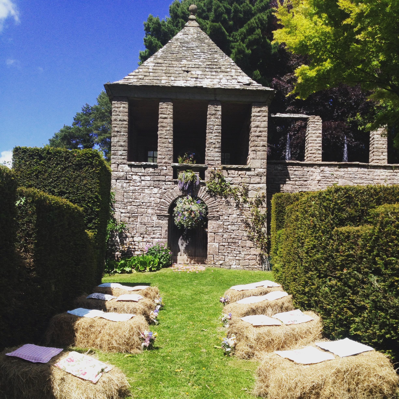 Wyndcliffe Court Gardens Wedding